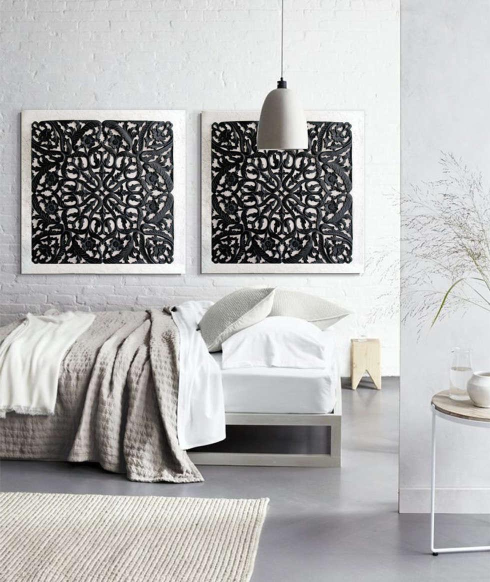 cuadros originales delier dormitorios de estilo industrial de estudio delier - Cuadros Originales