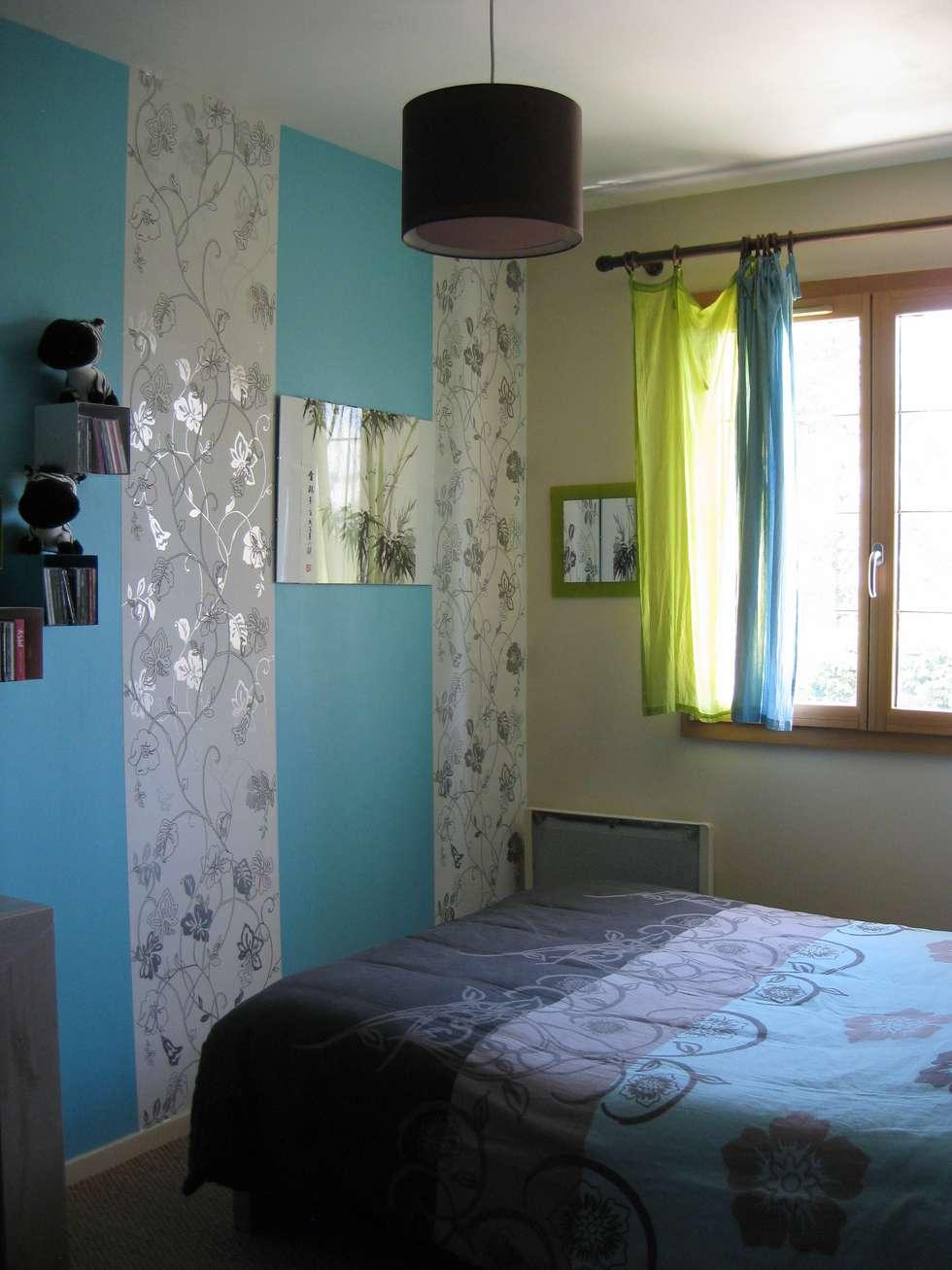 Décoration d'une chambre: Chambre de style de style eclectique par One look inside