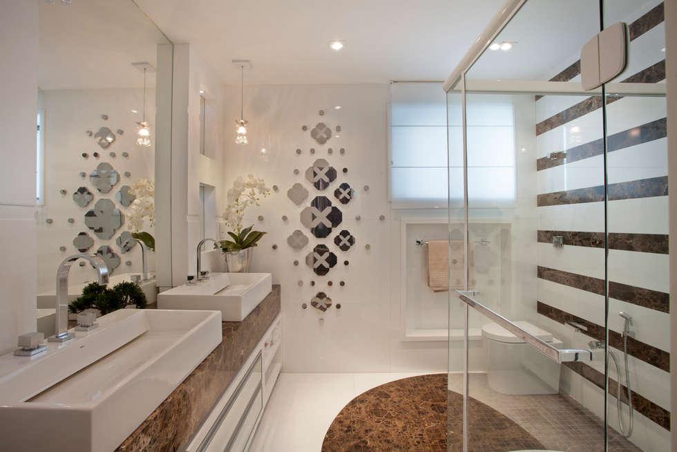 Fotos de banheiros modernos apartamento marrocos  homify -> Banheiros Modernos De Apartamento