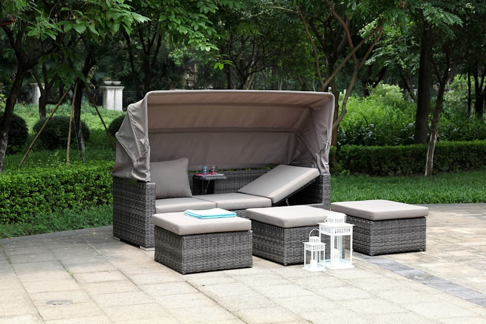 Jack Lounge von ZEBRA: klassischer Garten von ZEBRA