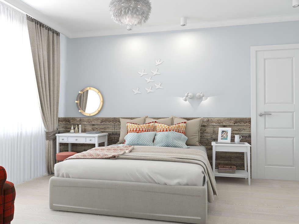 Dormitorios de estilo escandinavo de Ekaterina Donde Design