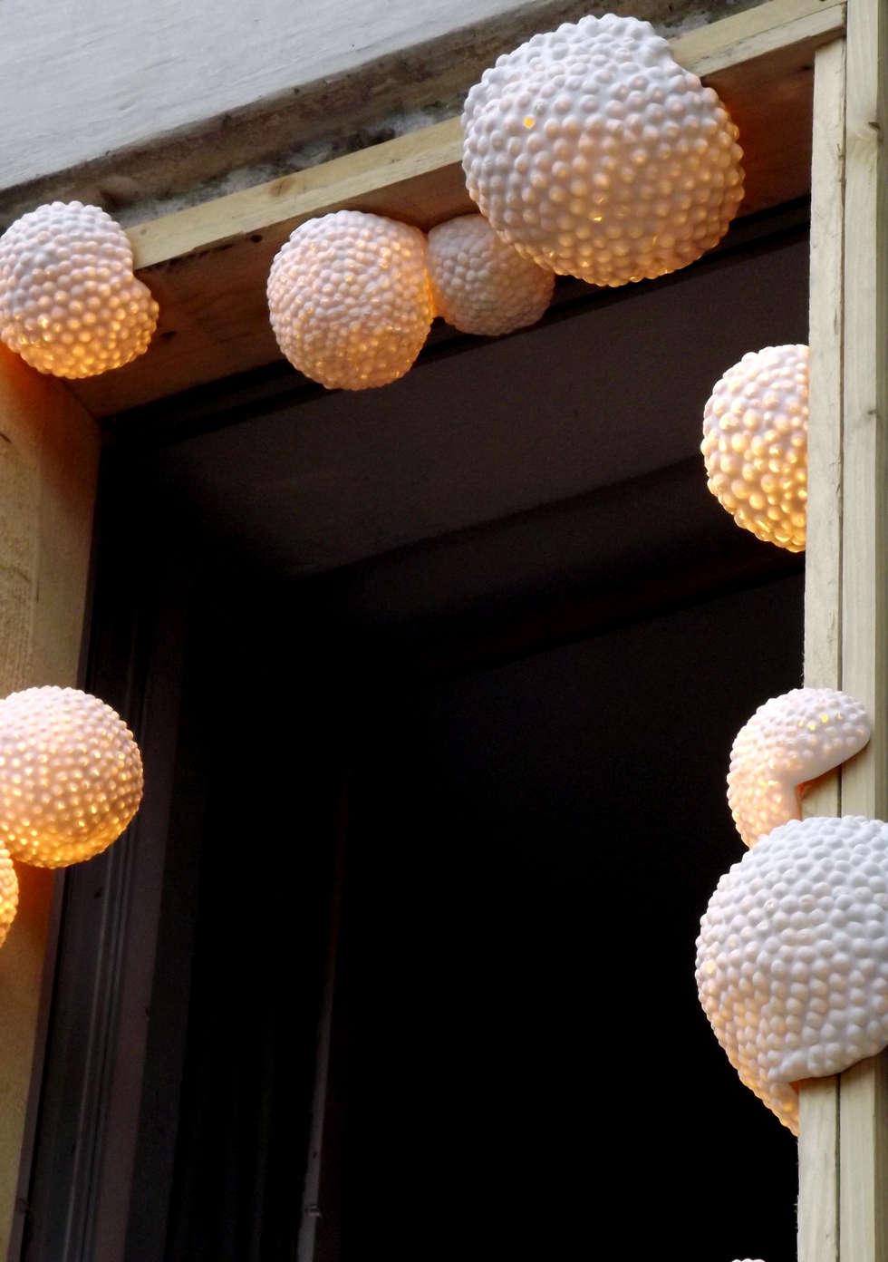 """Installation lumineuse """"Mousses"""": Lieux d'événements de style  par Juli About"""