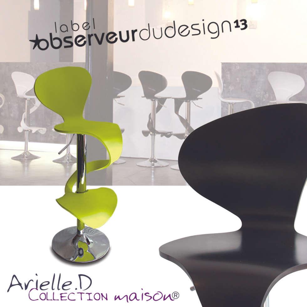 """Chaise """" Lilly Mermaid"""": Restaurants de style  par Arielle D Collection Maison"""