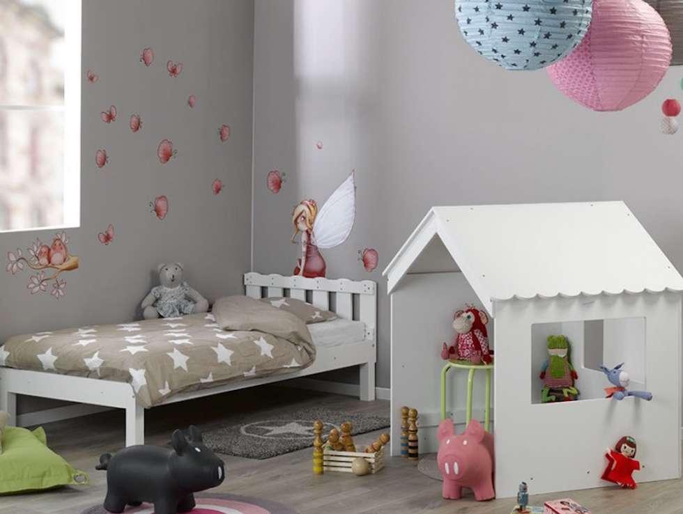 Moderne Kinderzimmer Bilder: Mitwachsendes Hüttenbett Swam | homify | {Kinderzimmer de 29}