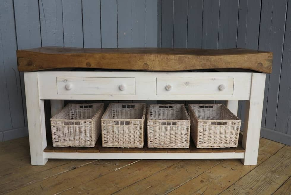 Country Kitchen Photos Bespoke Butchers Block Ideal As A Kitchen
