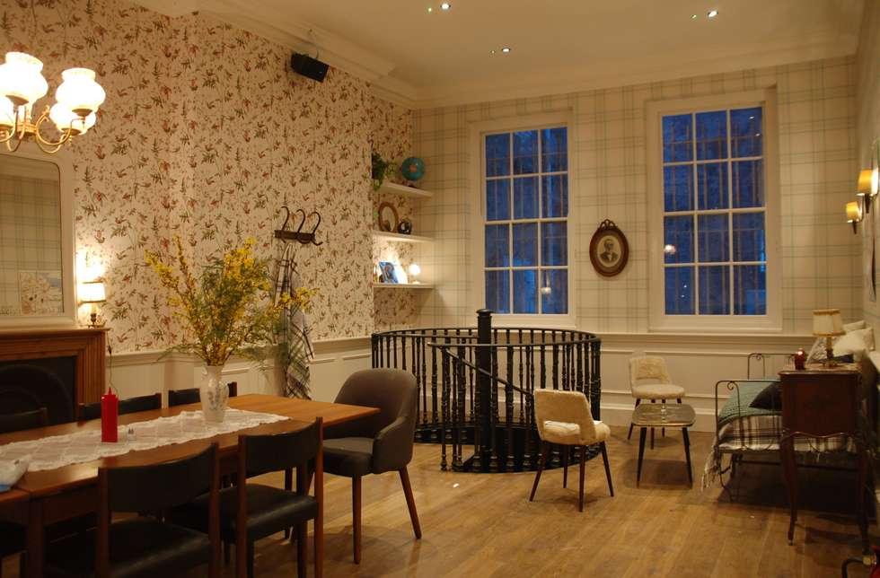 Big Fernand Londres : Espaces commerciaux de style  par Agathe Convert, Création d 'Interieurs