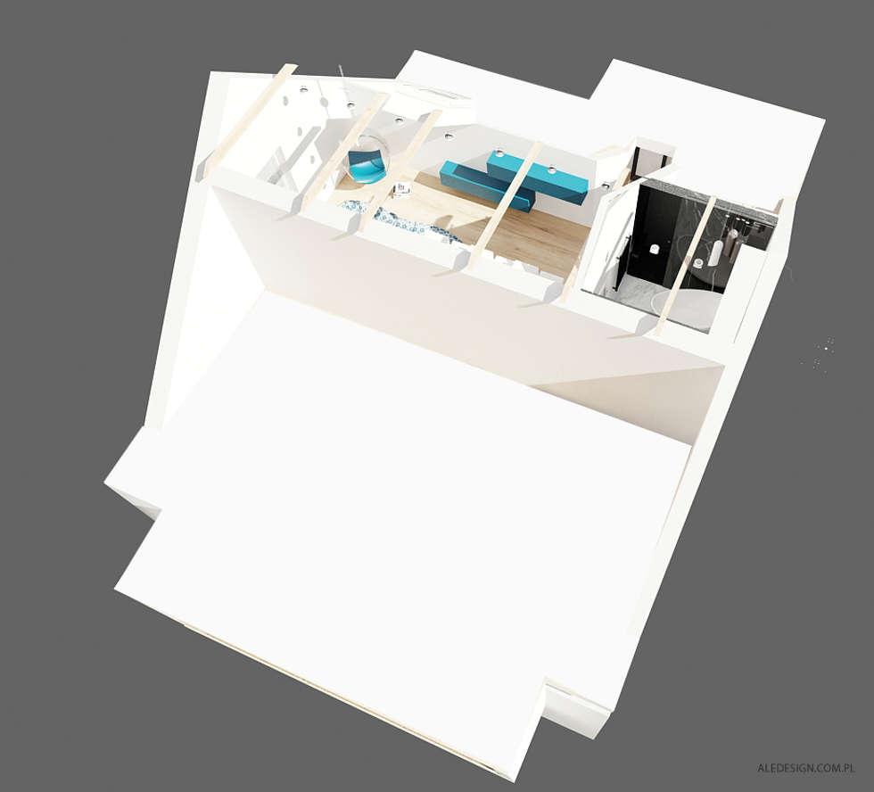 Projekt mieszkania 118m2 w Villa lux w Dąbrowie Górniczej  : styl nowoczesne, w kategorii Domy zaprojektowany przez Ale design Grzegorz Grzywacz