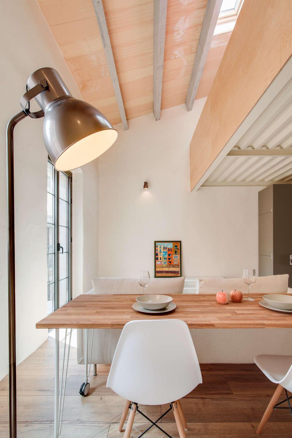 Salas de jantar mediterr nicas por lara pujol interiorismo proyectos de dise o homify - Fotos de interiorismo ...