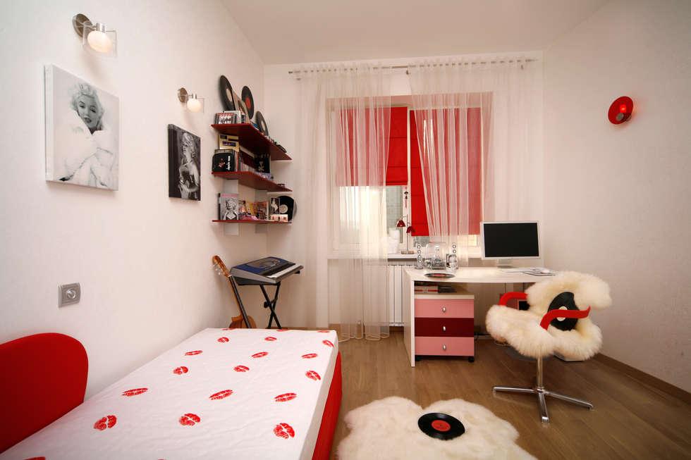 """Дизайн квартиры """"Домашний уют"""": Детские комнаты в . Автор – Samarina projects"""