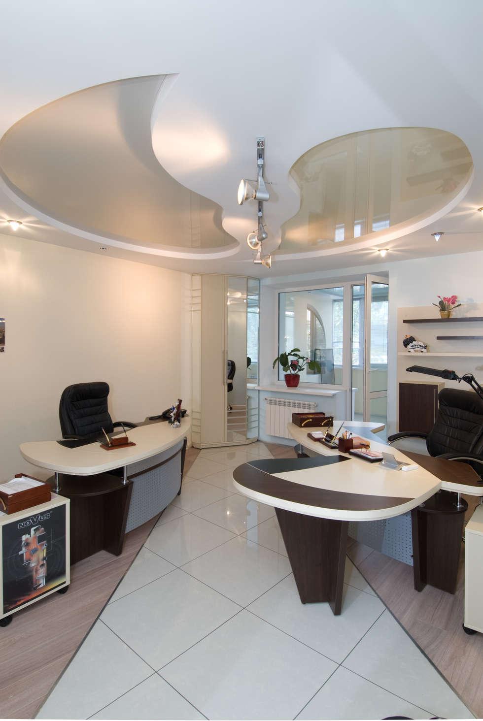 Дизайн офиса охранной компании: Офисы и магазины в . Автор – Samarina projects