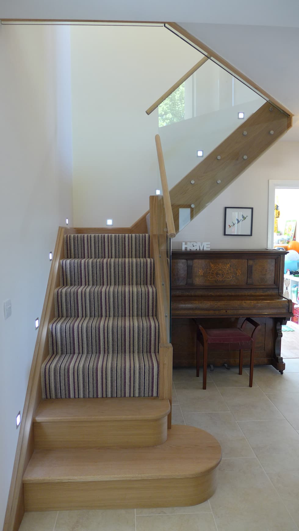 Oak Staircase Corridor Hallway By Style Within