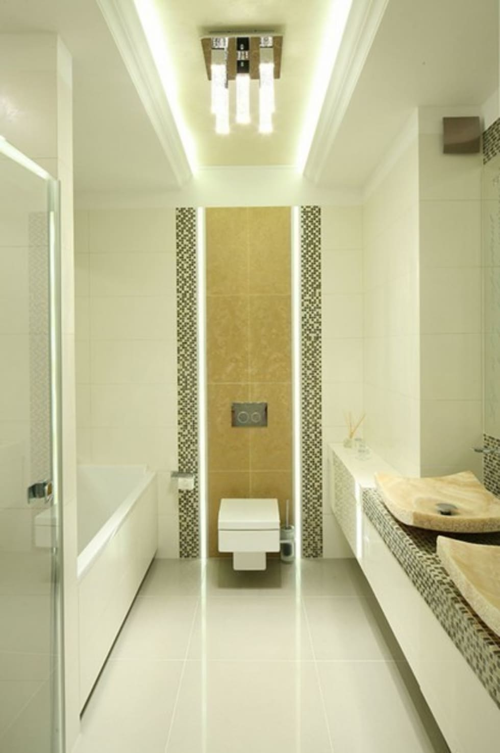 Łazienka.: styl , w kategorii Łazienka zaprojektowany przez CAROLINE'S DESIGN