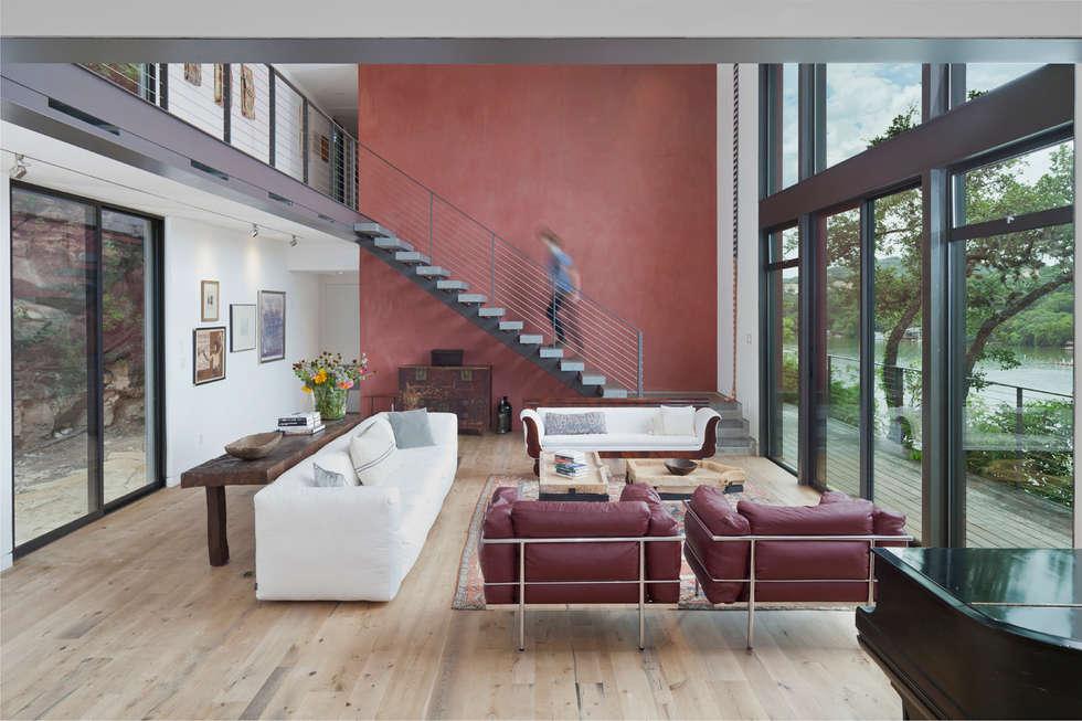 ausgefallene wohnzimmer bilder von specht architects | homify, Hause deko