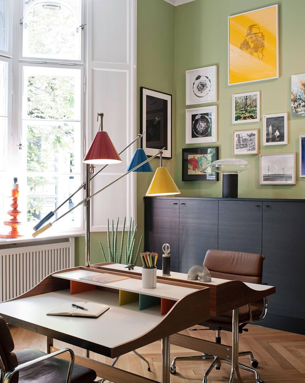 The Art of Viewing: skandinavische Arbeitszimmer von Gisbert Pöppler Architektur Interieur