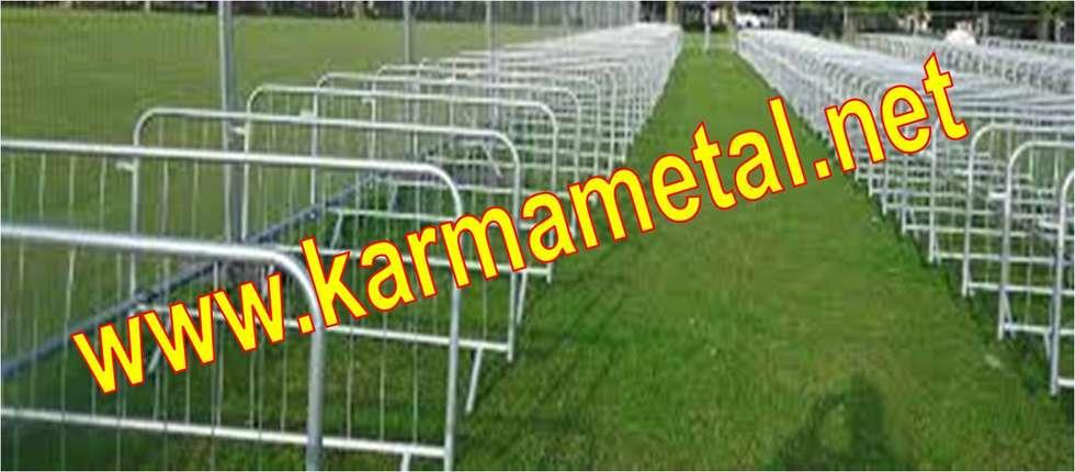 KARMA METAL – KARMA METAL-Polis Barikatları Ve Güvenlik Bariyerleri: endüstriyel tarz tarz Evler