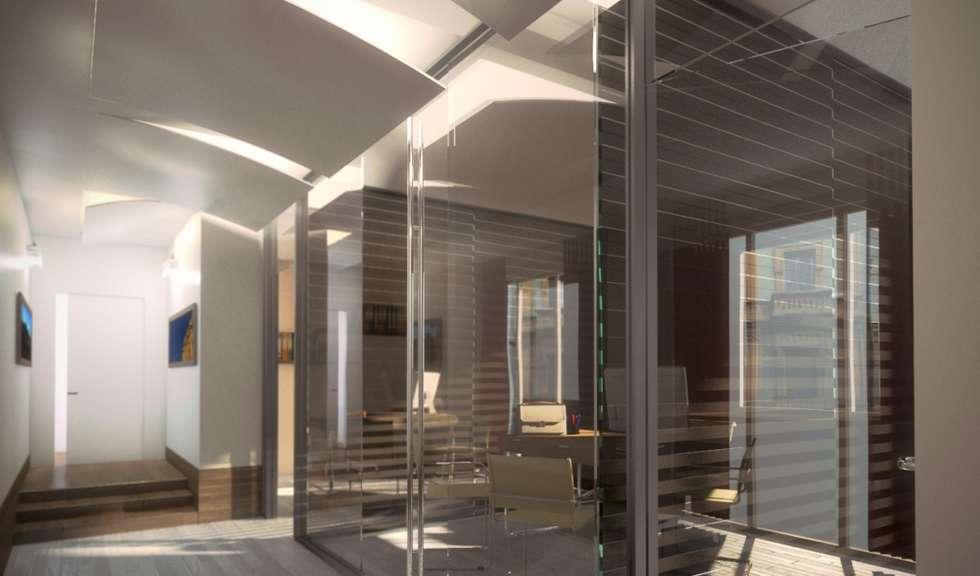 Uffici: Complessi per uffici in stile  di 3dita - Digital Visual Motion