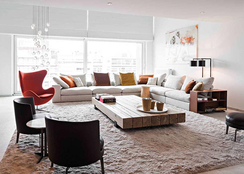 Arredamento moderno soggiorno in stile in stile moderno di