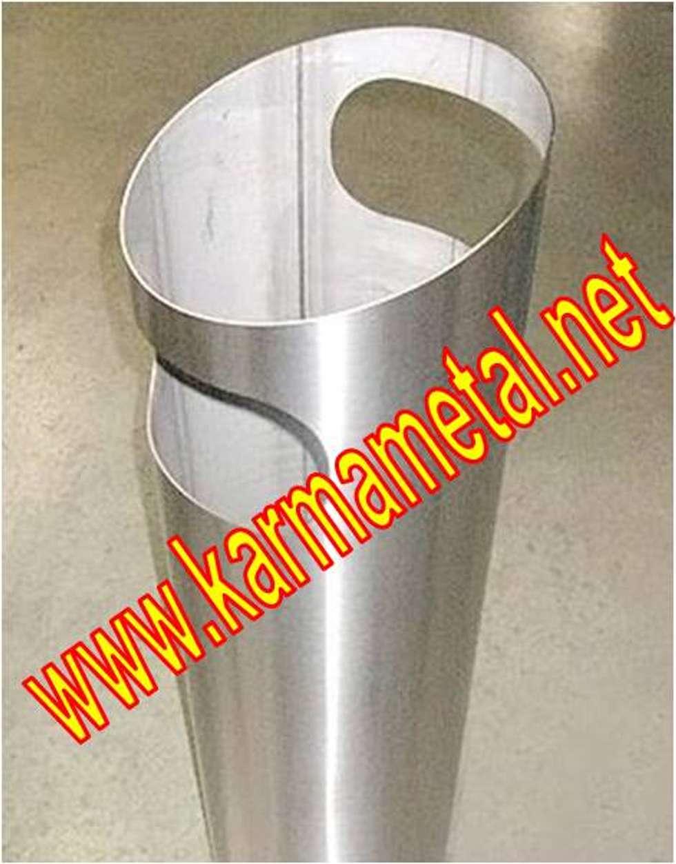 KARMA METAL – KARMA METAL-cnc lazer boru kesim profil kesme kurt ağzı açma : endüstriyel tarz tarz Banyo