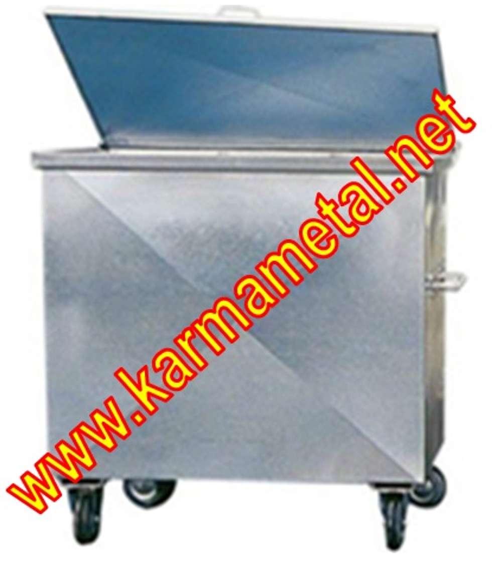 KARMA METAL – Karma Metal - Galvaniz Çöp Konteyneri Sıcak Daldırma Galvanizli Fiyatı Fiyatları: endüstriyel tarz tarz Multimedya Odası