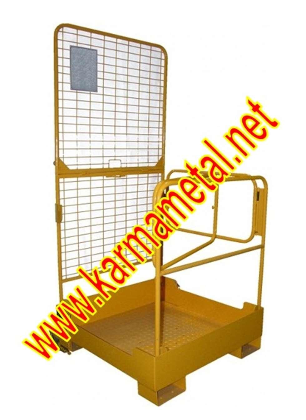 KARMA METAL – KARMA METAL-Forklift İnsan Personel  Adam Taşıma Kaldırma Sepeti: endüstriyel tarz tarz Mutfak