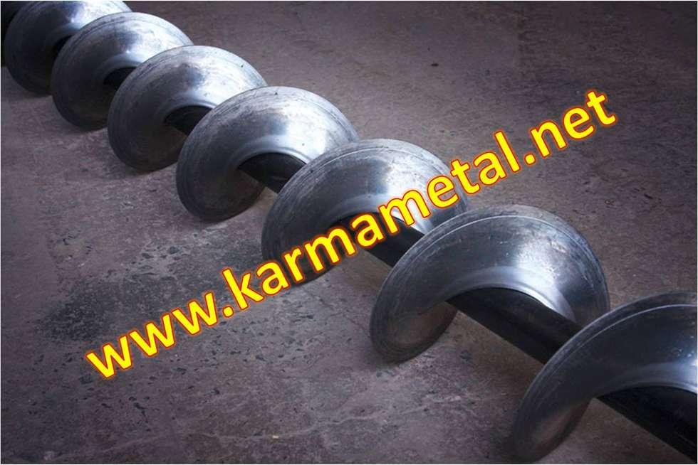 KARMA METAL – KARMA METAL -Helezon konveyör yaprağı imalatı Ve paslanmaz çelik yaprakları: endüstriyel tarz tarz Çalışma Odası