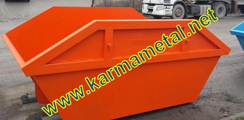 KARMA METAL – Karma Metal – Hurda Şantiye Moloz İnşaat Çöp Salıncak Konteyneri:  tarz Duvarlar