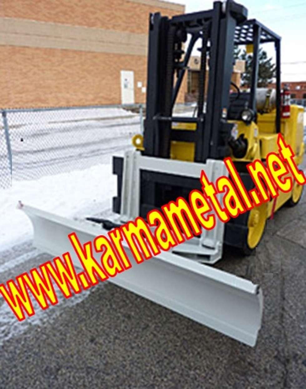 KARMA METAL – KARMA METAL-Forklift Kar Kum Mıcır Küreme Ataşmanı Kepçesi: endüstriyel tarz tarz Fitness Odası