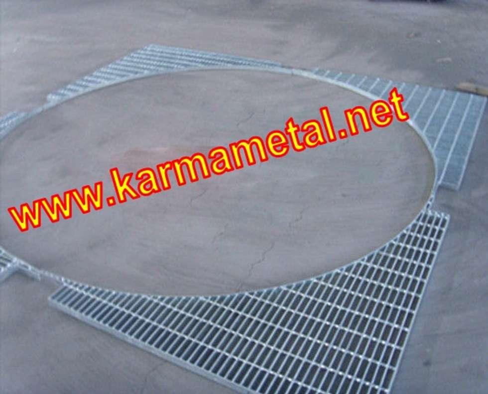 KARMA METAL – KARMA METAL-Galvanizli Metal Platform Izgara: endüstriyel tarz tarz Mutfak