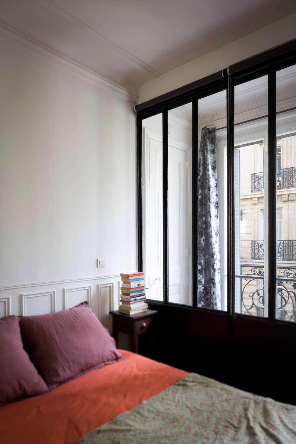 La chambre: Chambre de style de style Industriel par MELANIE LALLEMAND ARCHITECTURES