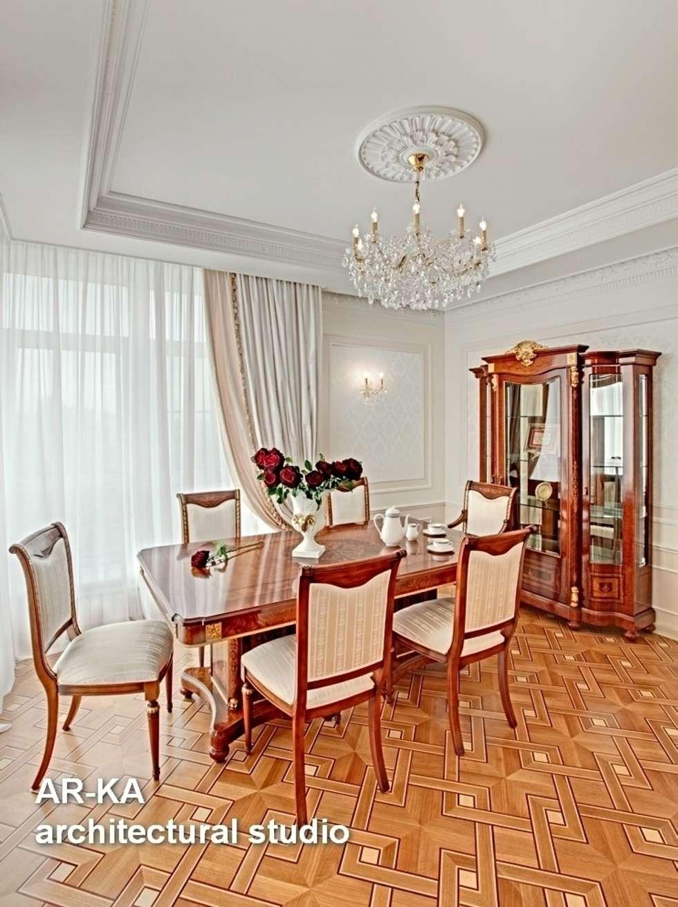 Принцип семейного совета: Столовые комнаты в . Автор – AR-KA architectural studio