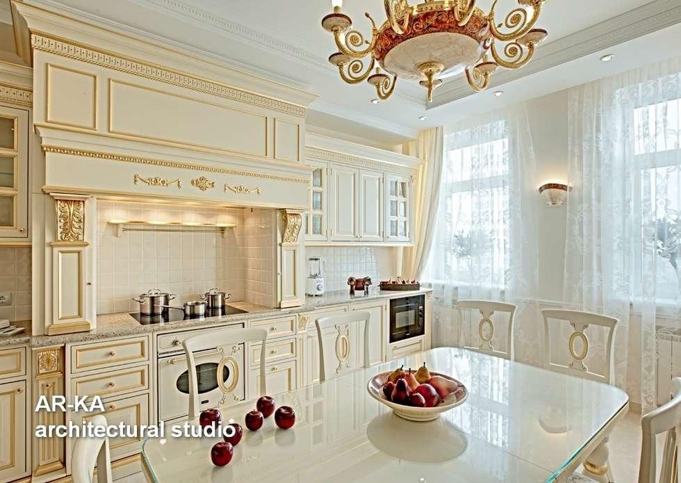 Принцип семейного совета: Кухни в . Автор – AR-KA architectural studio