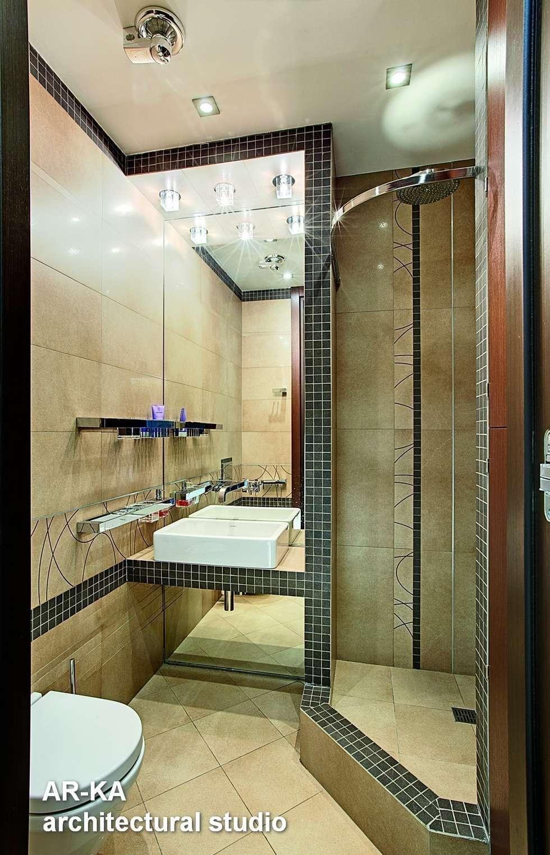 Жизнь в ШОКОЛАДЕ : Ванные комнаты в . Автор – AR-KA architectural studio