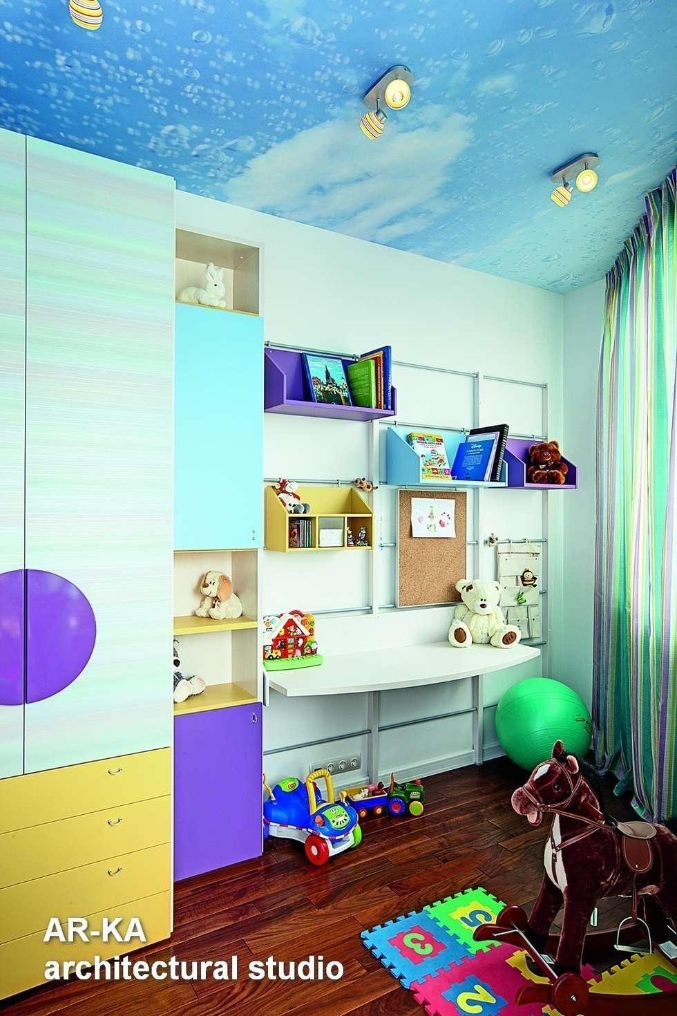 Жизнь в ШОКОЛАДЕ : Детские комнаты в . Автор – AR-KA architectural studio