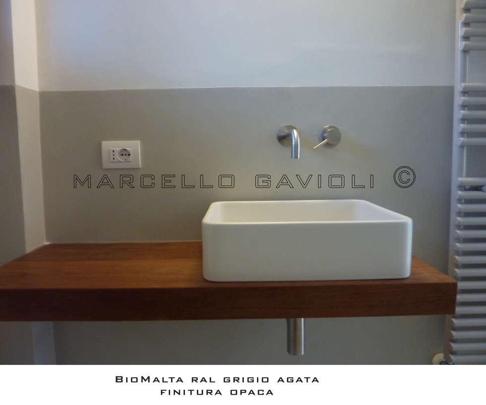 Idee arredamento casa interior design homify - Bagno di colore grigio capelli ...