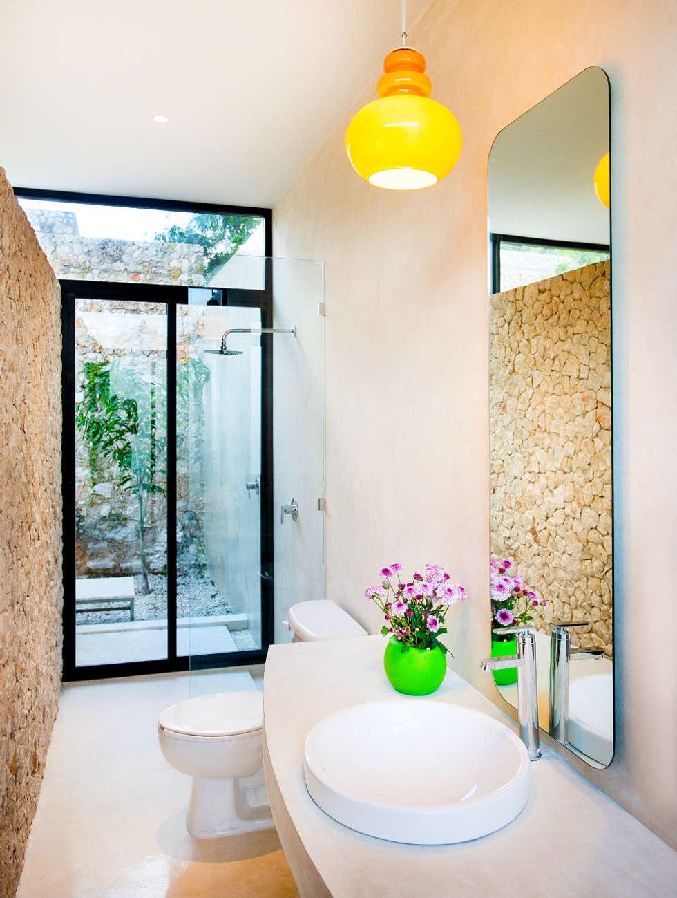 Ba os de estilo moderno por taller estilo arquitectura for Arquitectura banos modernos