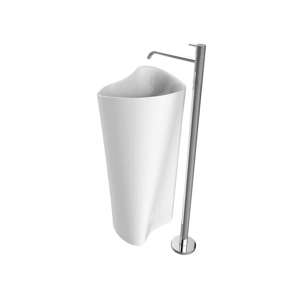 Fe-Man (designer Leonardo Mercurio): Bagno in stile in stile Moderno di CRISTALPLANT