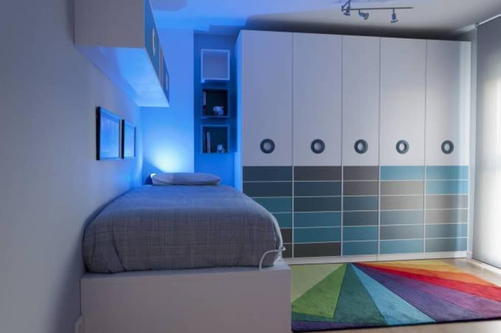 Fotos de decoraci n y dise o de interiores homify - Decoracion dormitorio juvenil chico ...