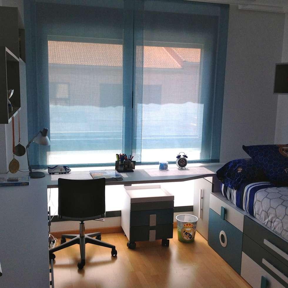 Fotos de decoraci n y dise o de interiores homify - Habitacion juvenil chico ...
