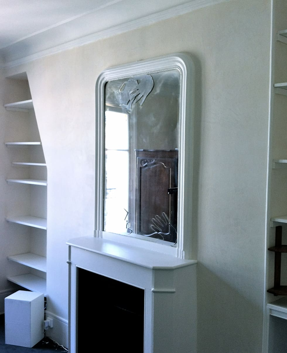 Stucco imitation marbre : Chambre de style de style Moderne par AR Decor - Peinture de décoration