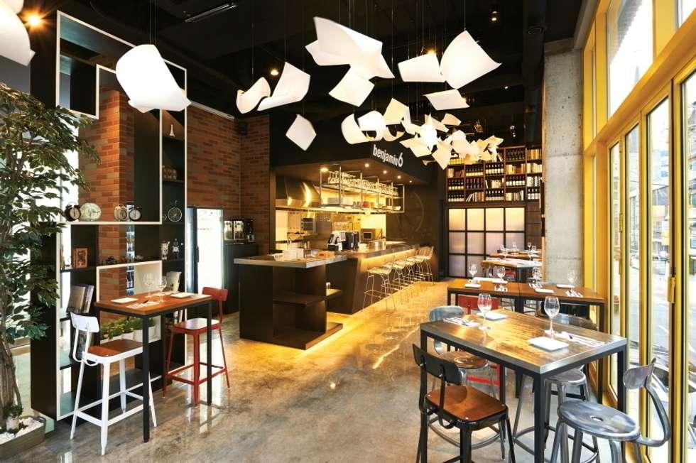 6가지의 공간 컨셉 키워드: Design m4의  레스토랑