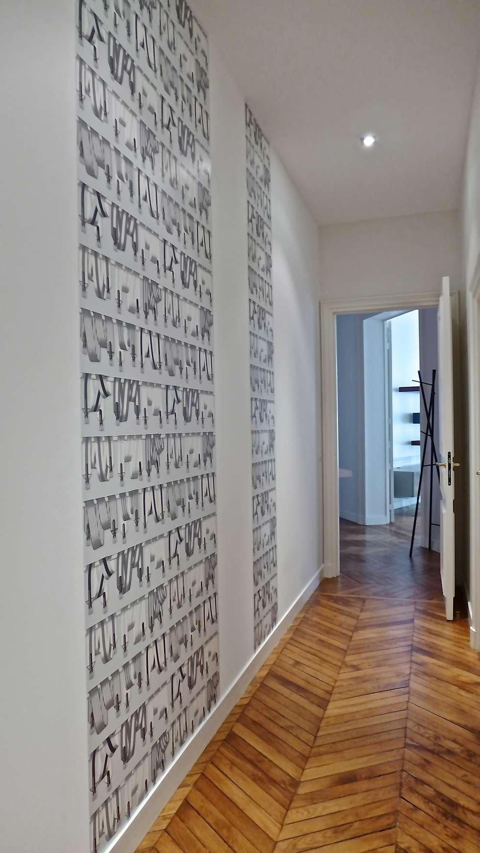 Papier peint couloir entr e fashion designs for Papier peint couloir moderne