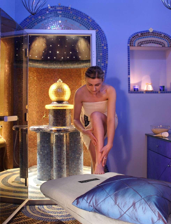 spa: styl egzotyczne, w kategorii Spa zaprojektowany przez JOL-wnętrza