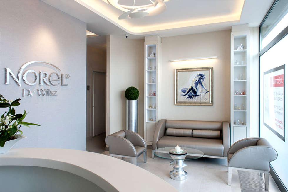 relax: styl nowoczesne, w kategorii Spa zaprojektowany przez JOL-wnętrza