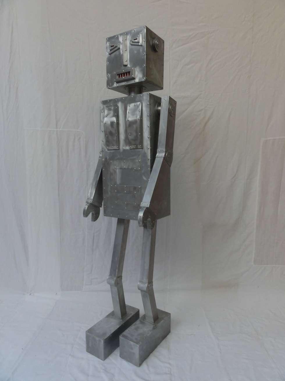 ROBOT TERMINATOR: Salon de style de style eclectique par CYRILLE PLATE