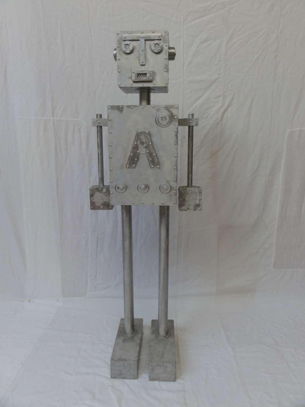 ROBOT A: Salon de style de style eclectique par CYRILLE PLATE