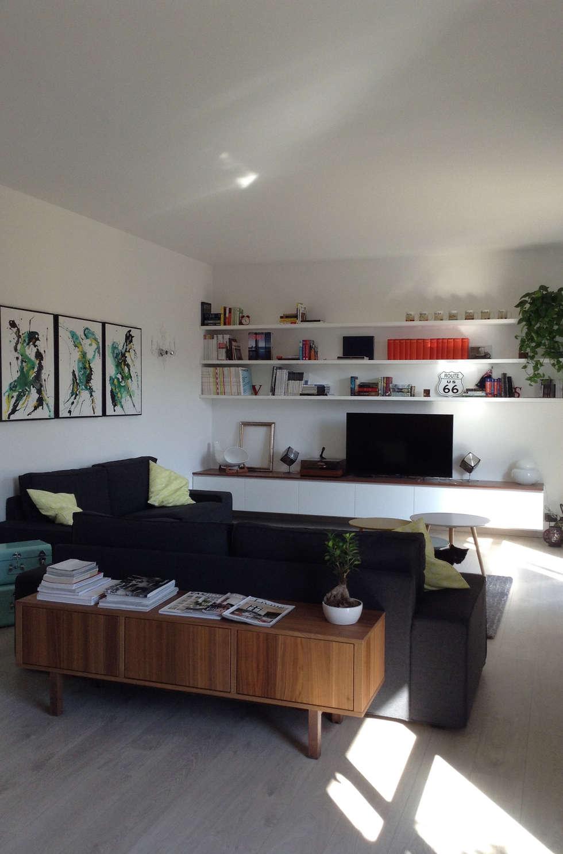Valentina Cassader, Casa privata a Bergamo, 2014: Soggiorno in stile in stile Moderno di Valentina Cassader