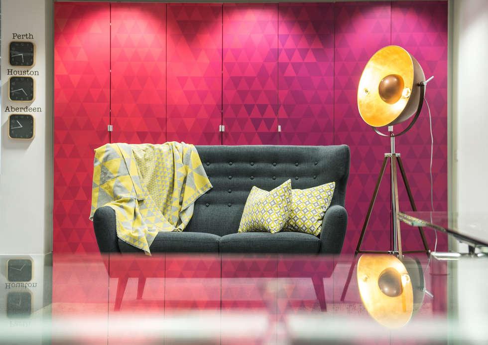 The Hush Zone: Bureaux de style  par lara stancich interior design