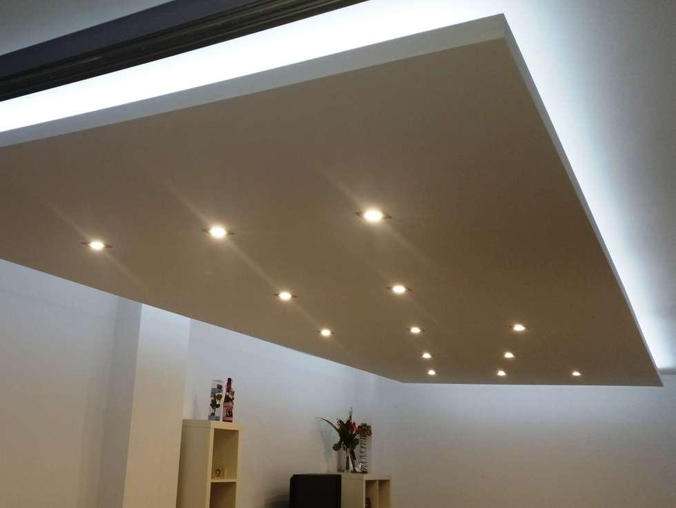Fotos de decoraci n y dise o de interiores homify for Precio techo pladur