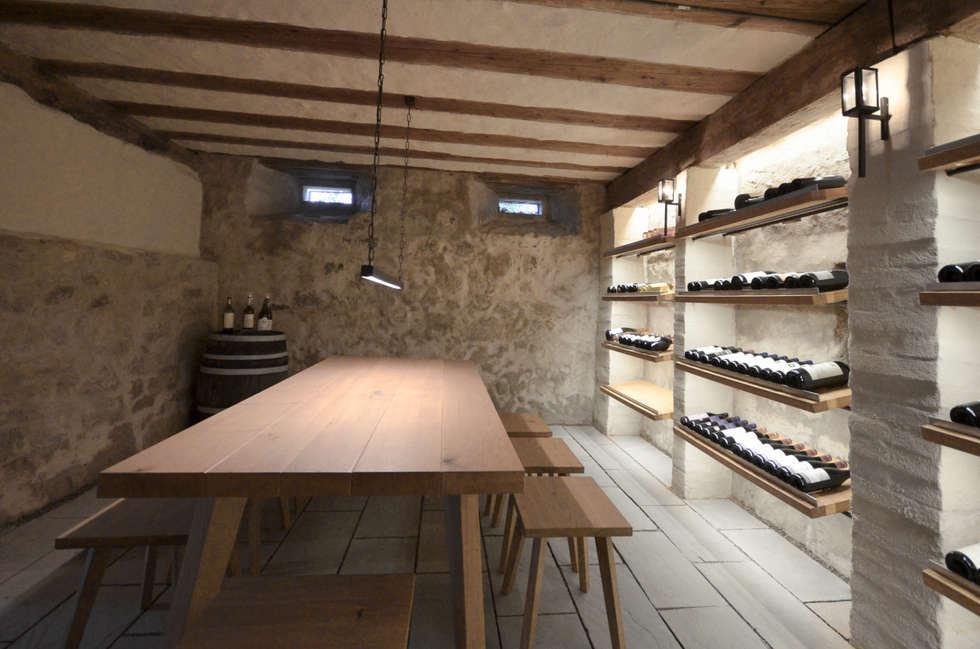 Wohnideen interior design einrichtungsideen bilder for Weinkeller einrichten