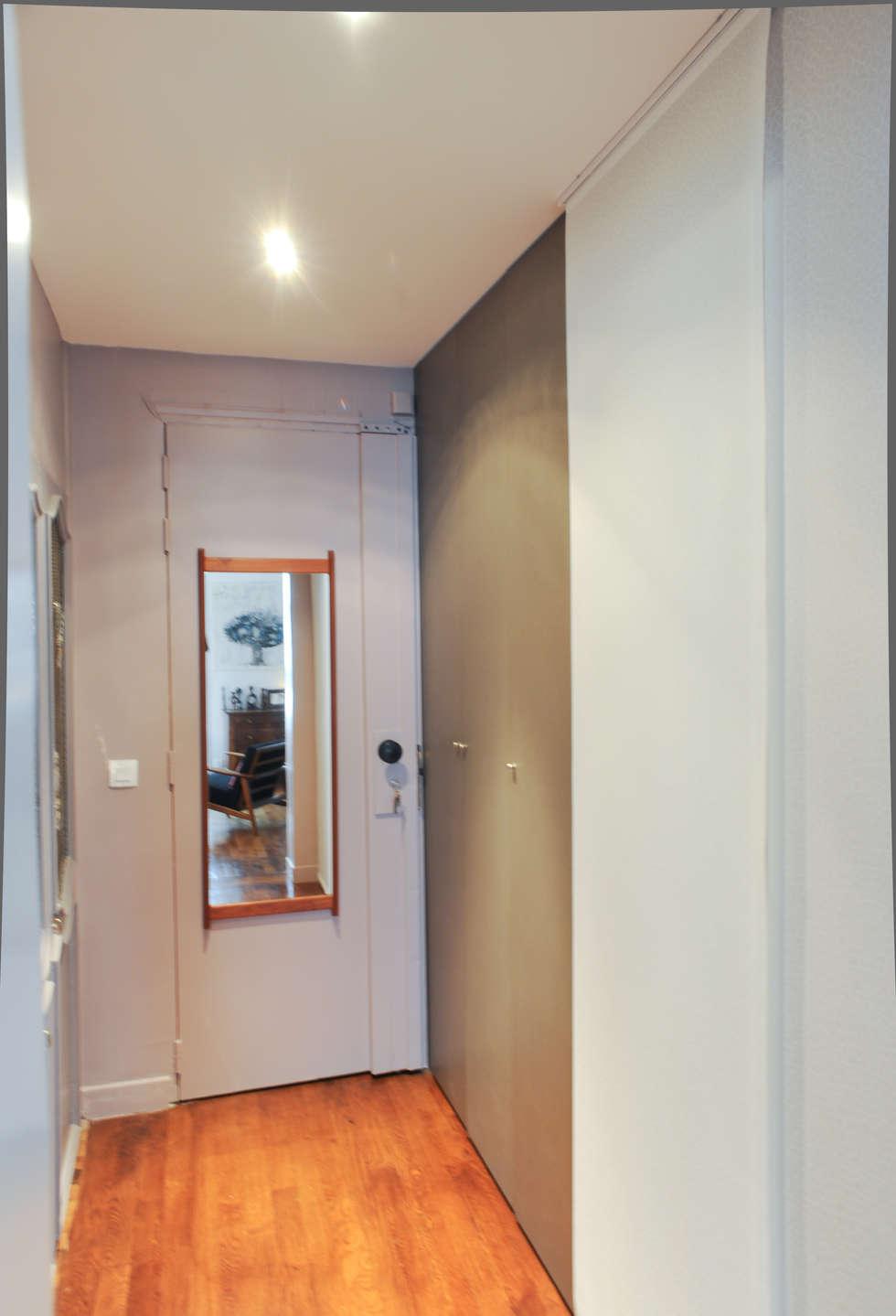 Entrée  : Dressing de style de style Moderne par Sara Camus Bouanha Architecture Interieure